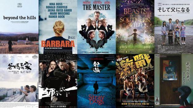 我的年度電影總結2013