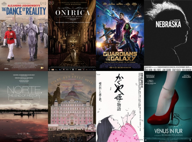 Top 8 Films of 2014