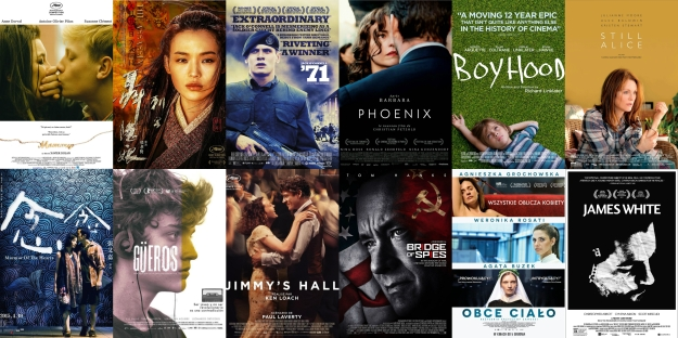 Bobby Kwok Top 12 Films of 2015